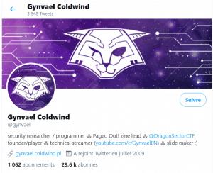 Twitter Gynvael